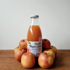 Jus de pomme bio fermier domaine mourguy