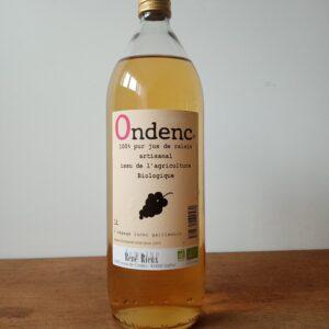 Jus de raisin Bio - Domaine René Rieux