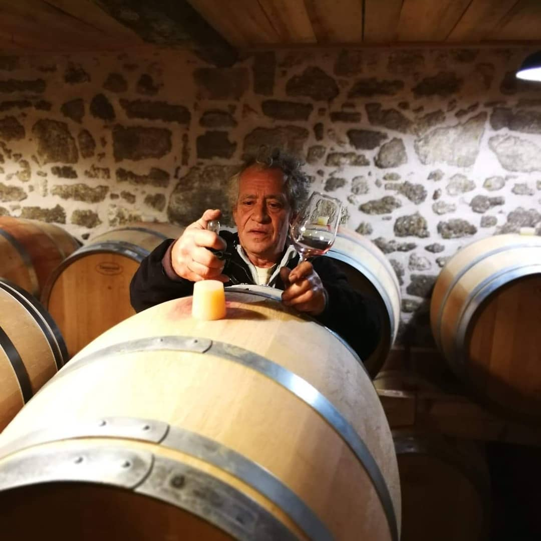 vin château Gree Laroque
