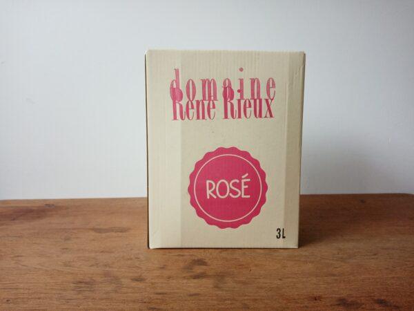 """AOC Gaillac """"BIB 3 Litres Rosé"""" - Domaine René Rieux"""