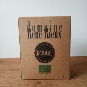 """IGP Côtes du Tarn """"BIB 3 Litres Rouge"""" - Domaine René Rieux"""
